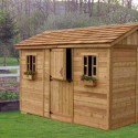 L'abri de jardin bois, la qualite au service de l'esthetique!