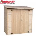 Des abris bois Auchan à partir de 169€!