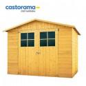 Un abri jardin bois à 309€ chez Castorama!