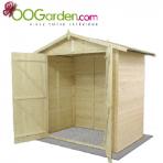 un abri de jardin bois moins de 300. Black Bedroom Furniture Sets. Home Design Ideas