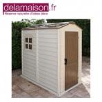 Un abri en résine à partir de 389€ chez Delamaison.fr!