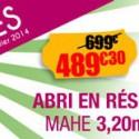 Un abri de jardin resine en solde pour moins de 500 euros!